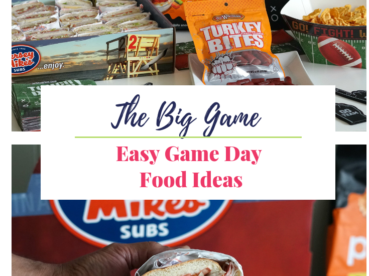 Easy Game Day Food Ideas for Big Game