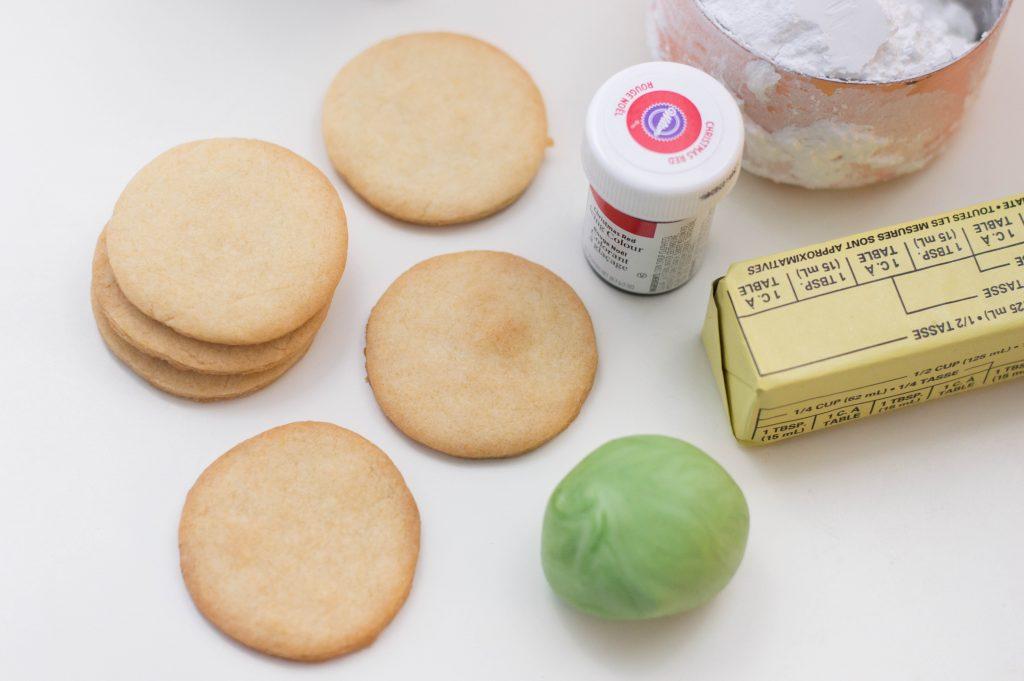 Flower Sugar Cookies Ingredients