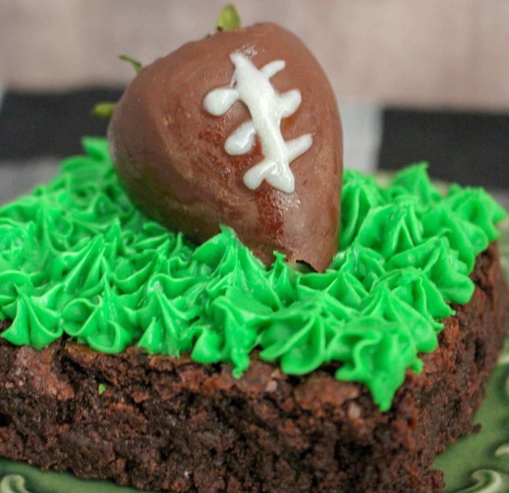 Football Brownie Recipe