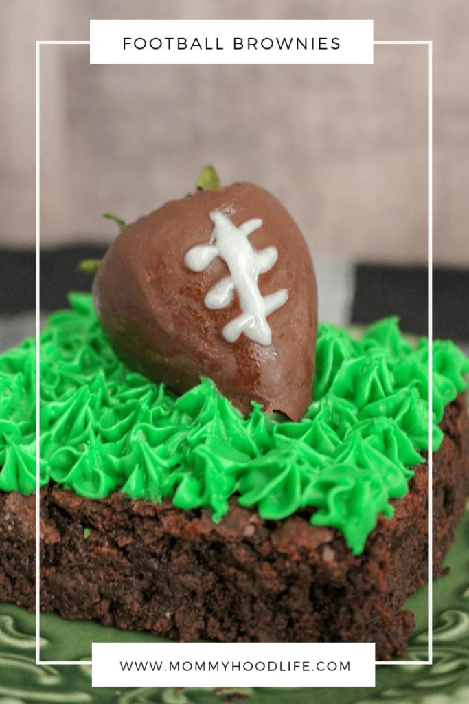 Football Brownies Recipe