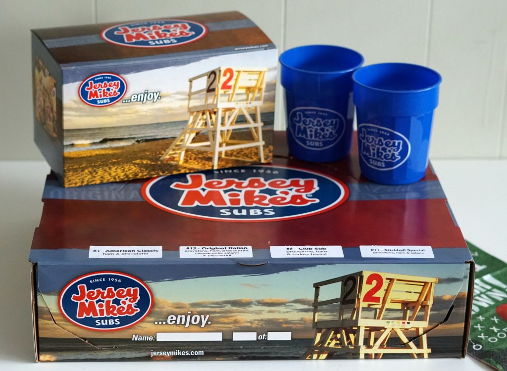 Jersey Mikes Catering Boxes
