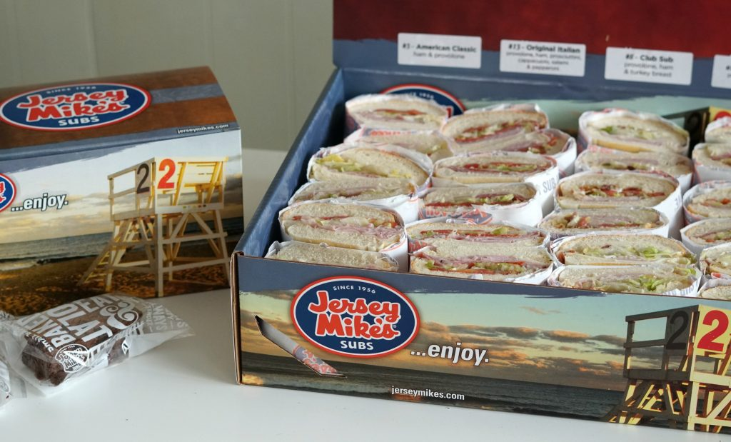 Jersey Mikes Sub Box