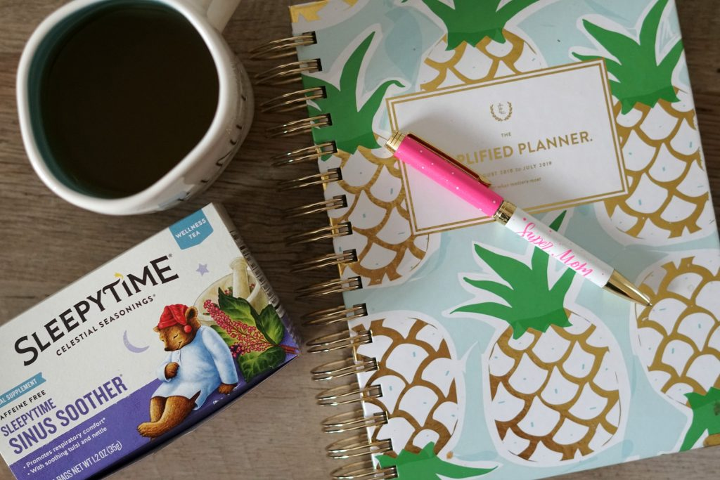Simplified Planner Tea