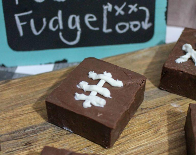 Sweet and Delicious Chocolate Football Fudge Recipe