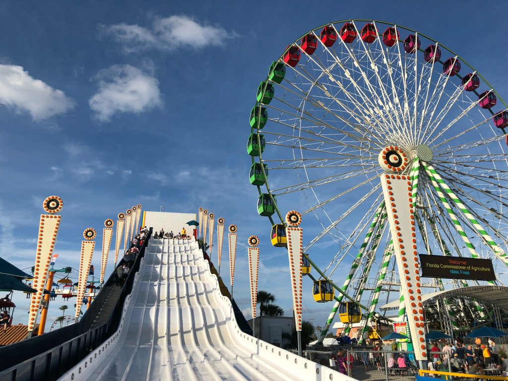 Rides at The Florida State Fair
