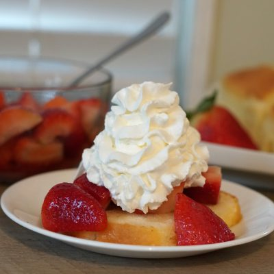 Fresh Strawberry Shortcake Florida