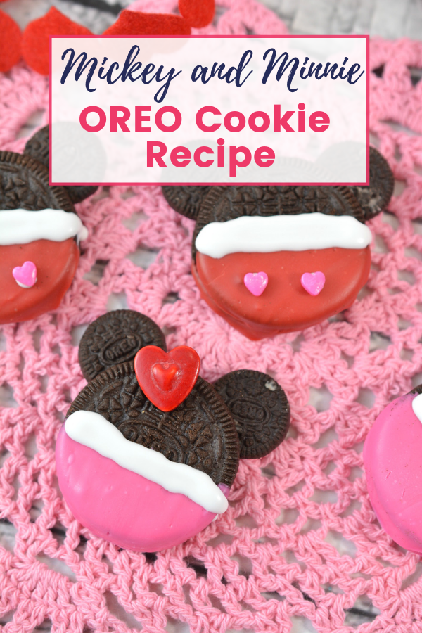 Mickey and Minnie OREO Cookie Recipe