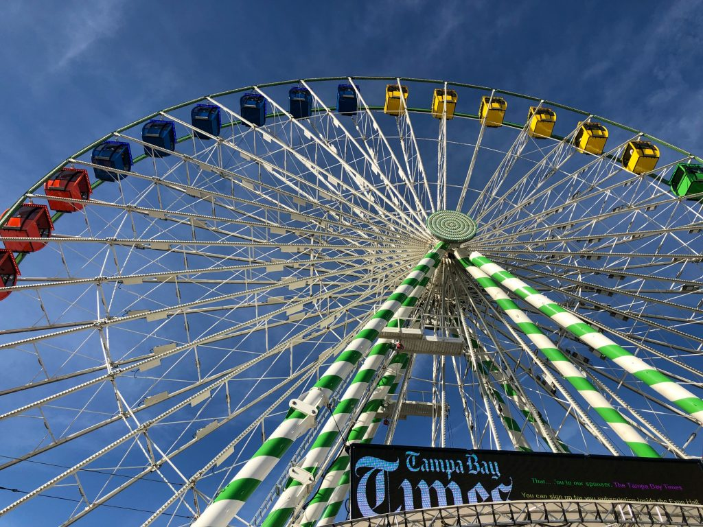 Sky Wheel at The Florida State Fair