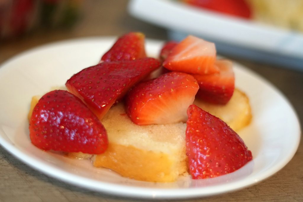Simple Strawberry Dessert