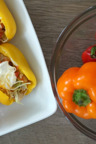 Bell Pepper Taco Shell