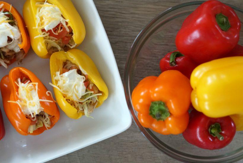 Bell Pepper Taco Shell