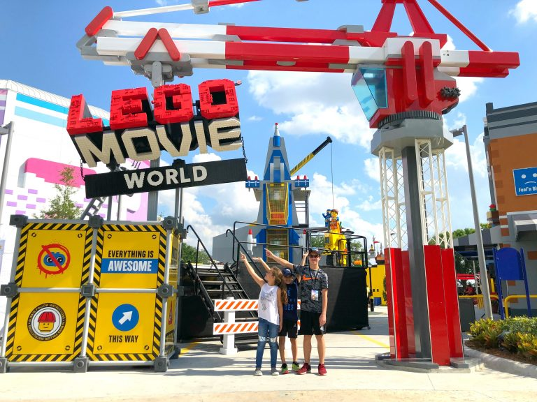 The LEGO Movie World at LEGOLAND Florida is Now OPEN!