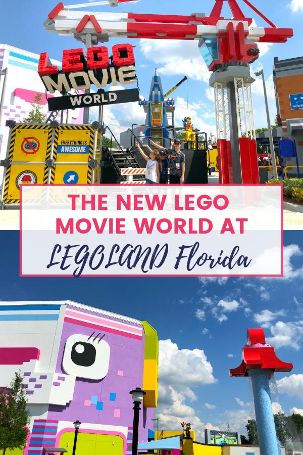 NEW LEGO Movie World Florida