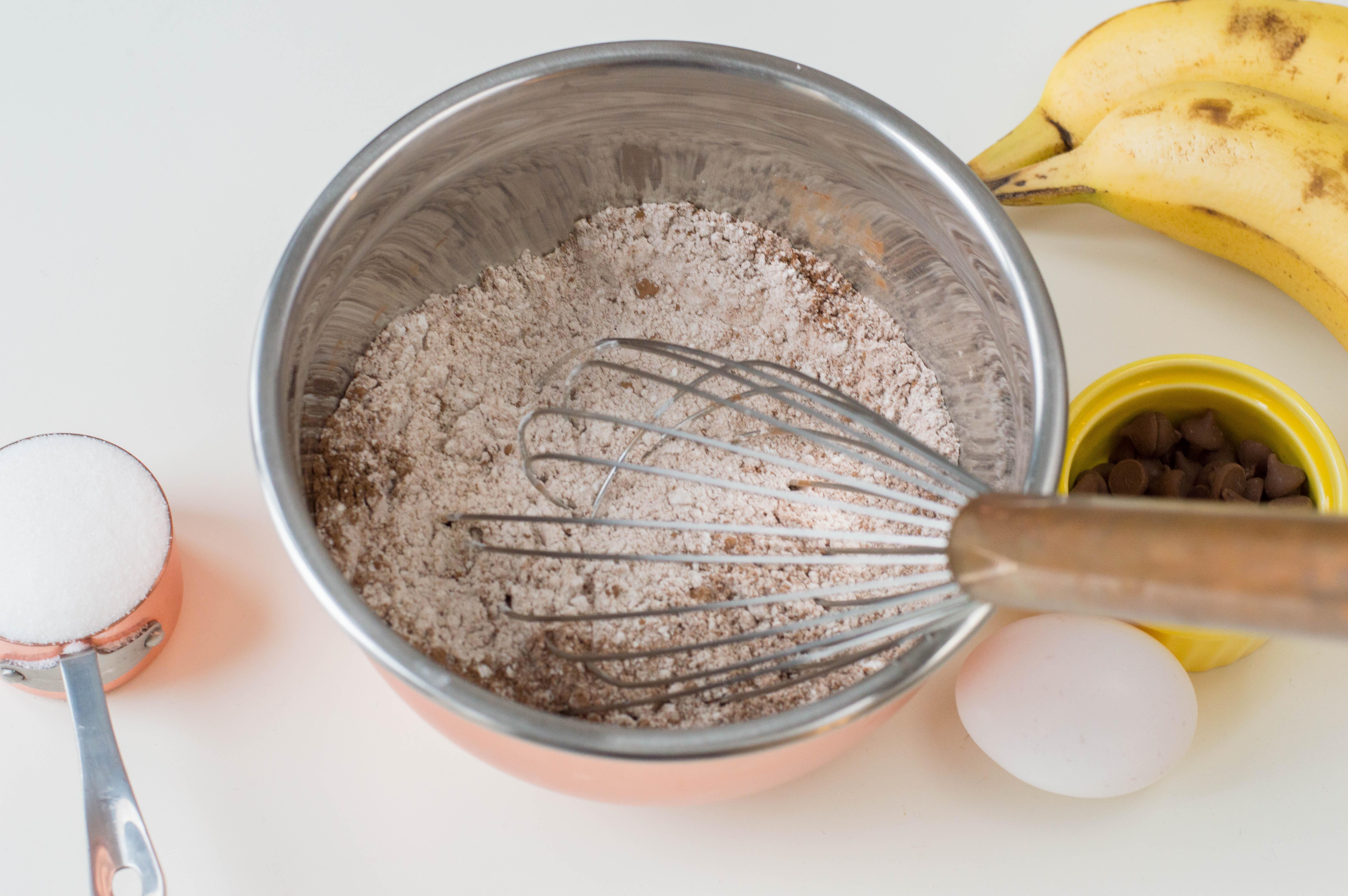 Steps to Make Chocolate Banana Muffins Recipe