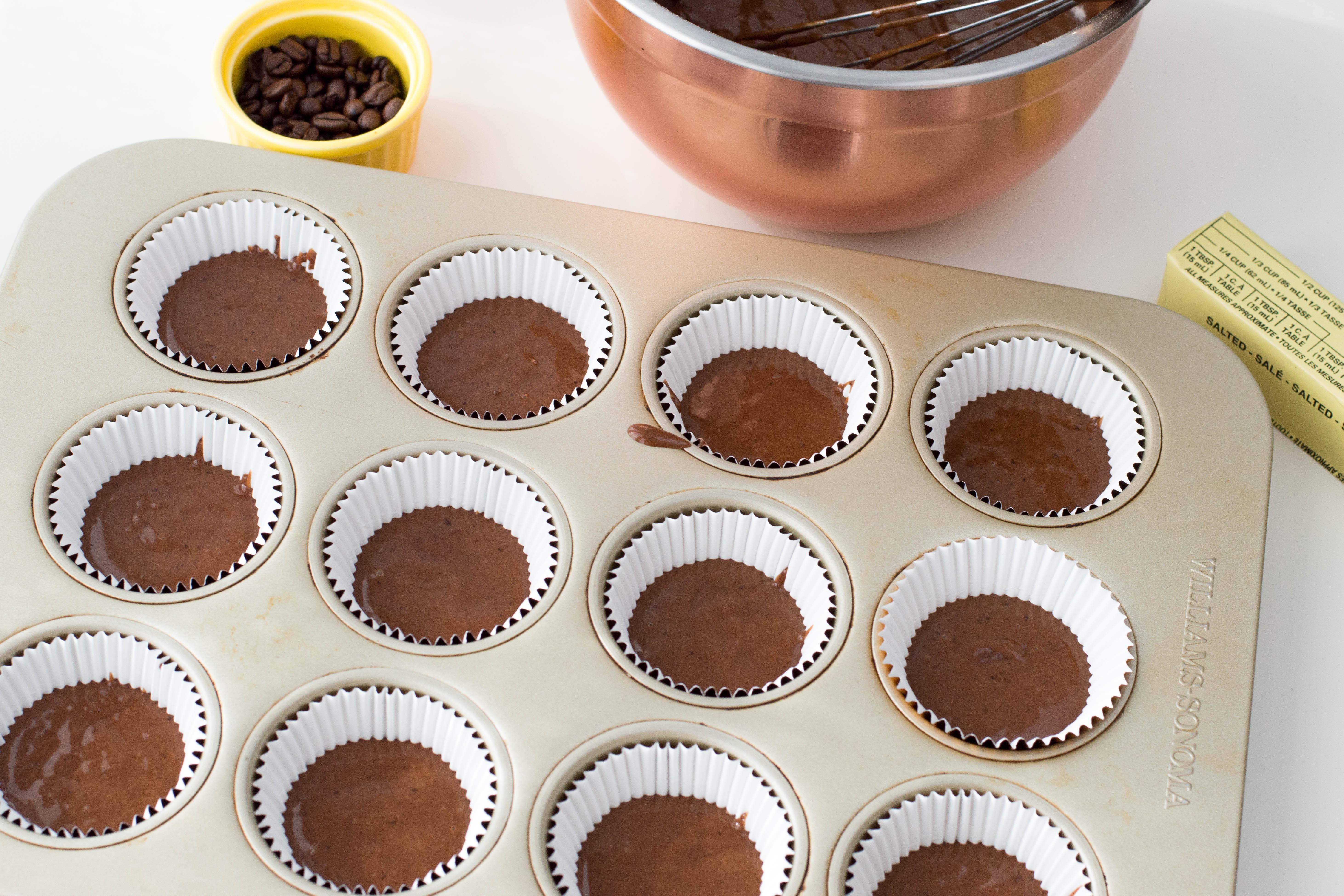 Mocha Cupcakes in Pan