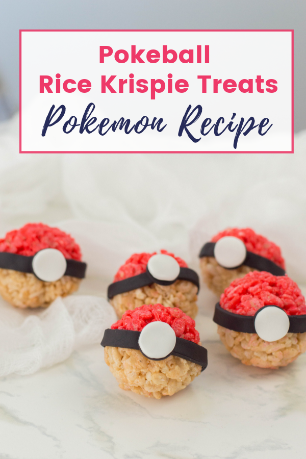 Pokeball Rice Krispie Treats Pokemon Recipe