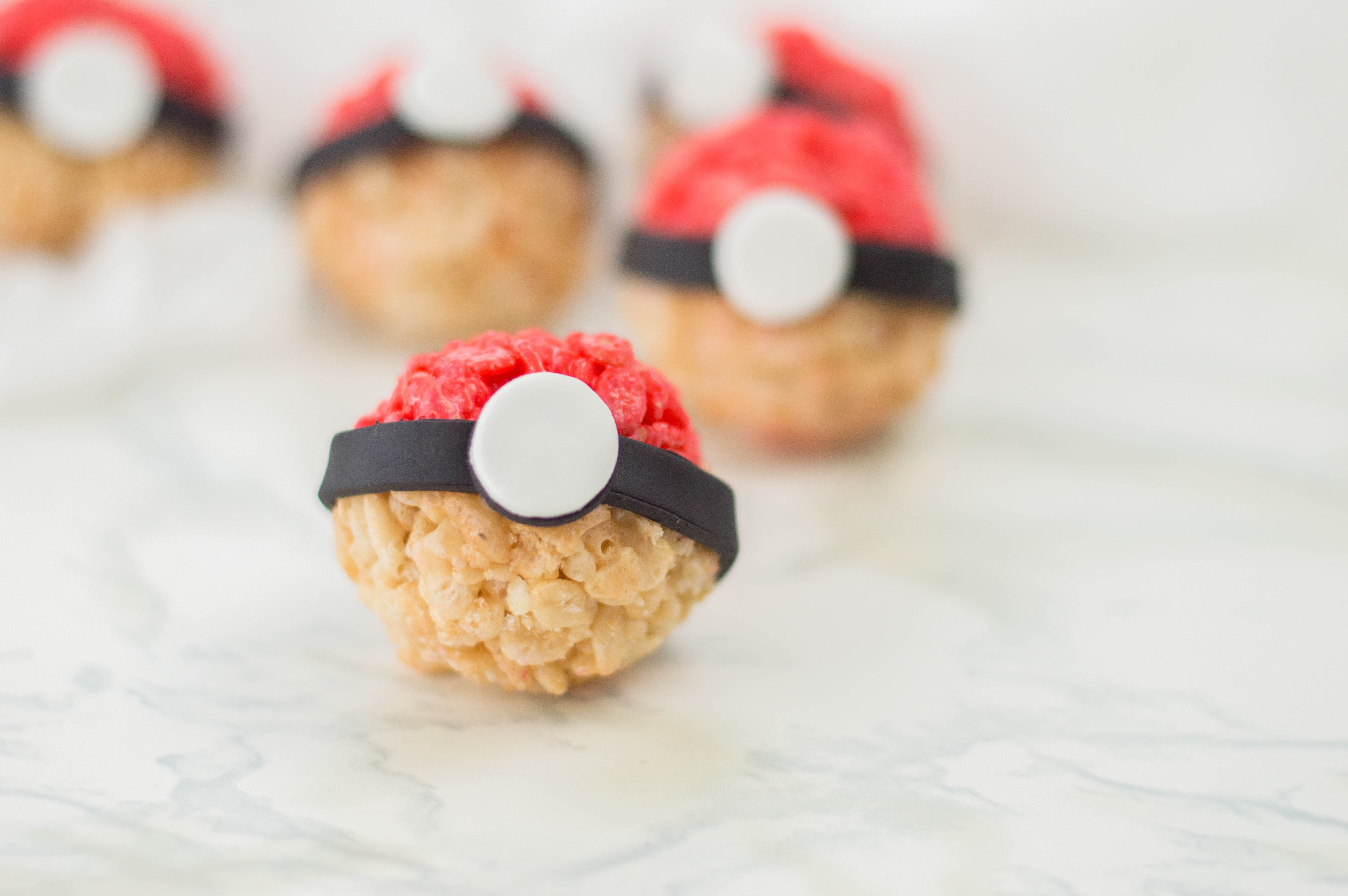 Pokemon Rice Krispy Treats recipe