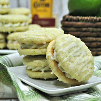 Tequila Lime Margarita Cookies