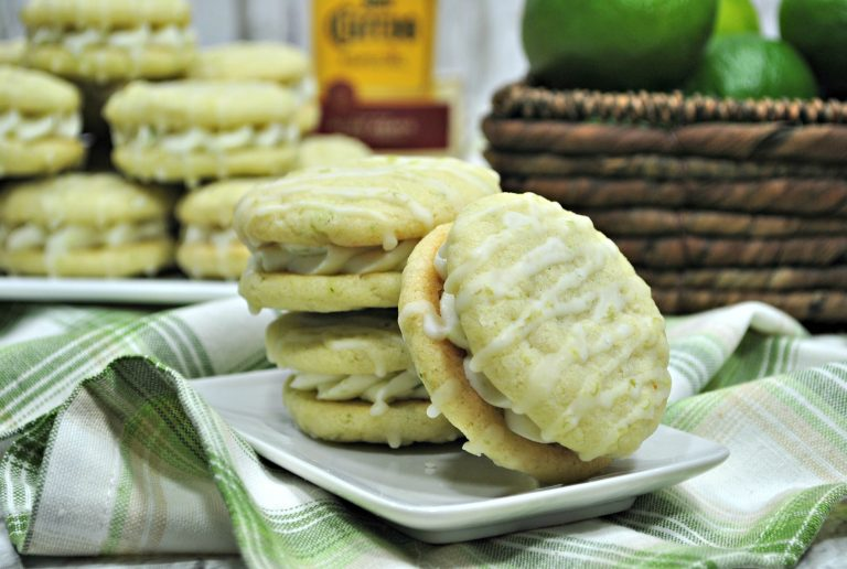 Margarita Cookies Recipe with Tequila Glaze for Cinco De Mayo