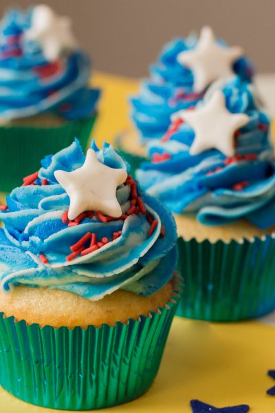 Patriotic Cupcake Ideas