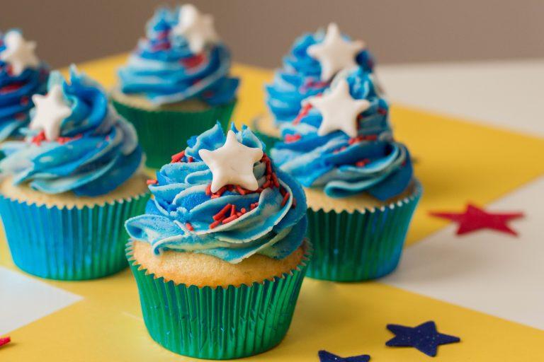 Fun Patriotic 4th of July Cupcakes Recipe