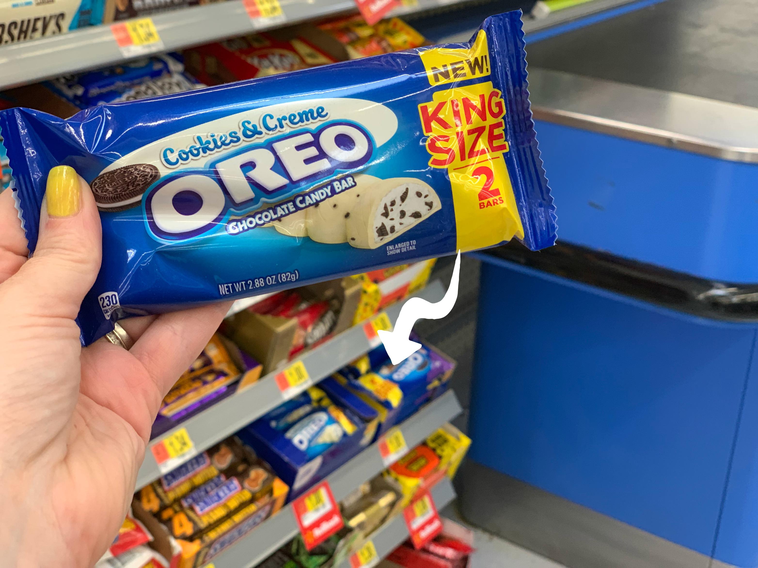 Oreo candy Bar at Walmart