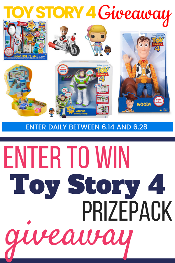 Toy Story 4 Prizepack Giveaway