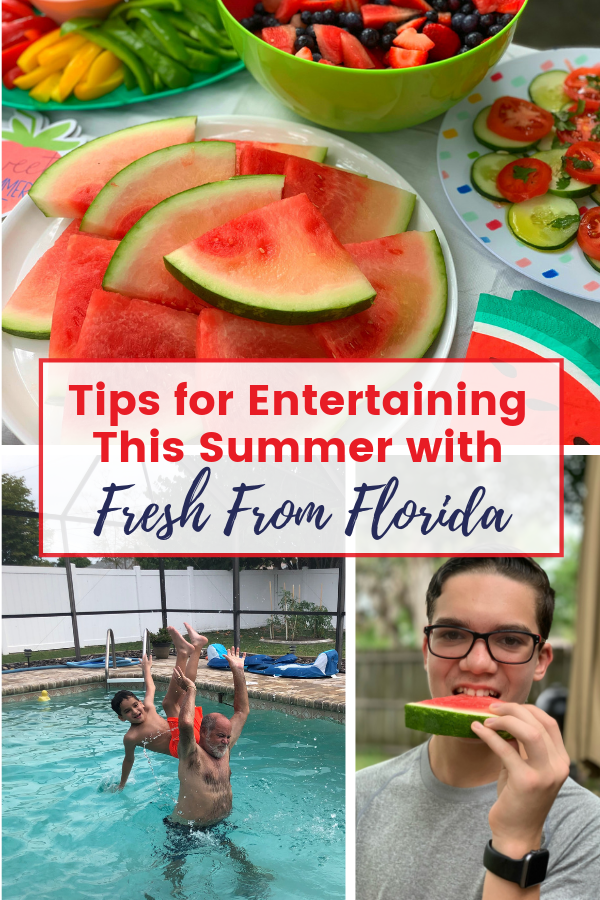 Tips for Entertaining in the summer