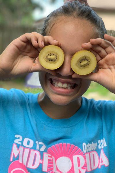 Kiwi Fruit Food Fun
