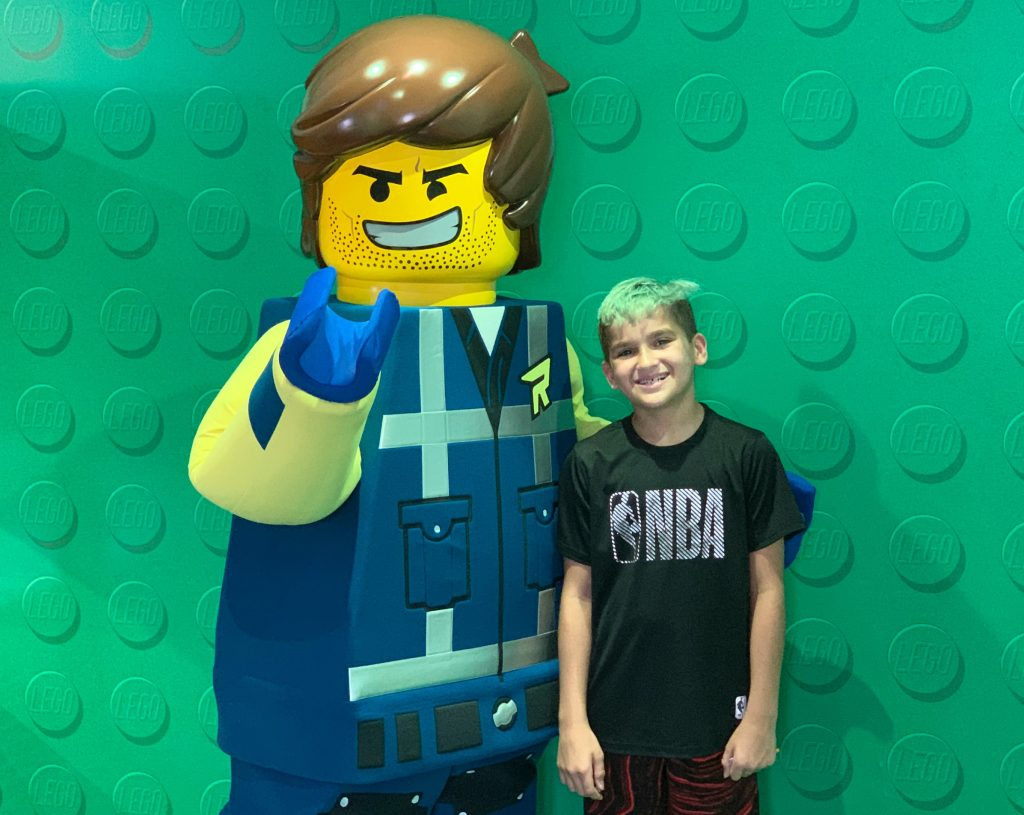 Characters at LEGOLAND Florida
