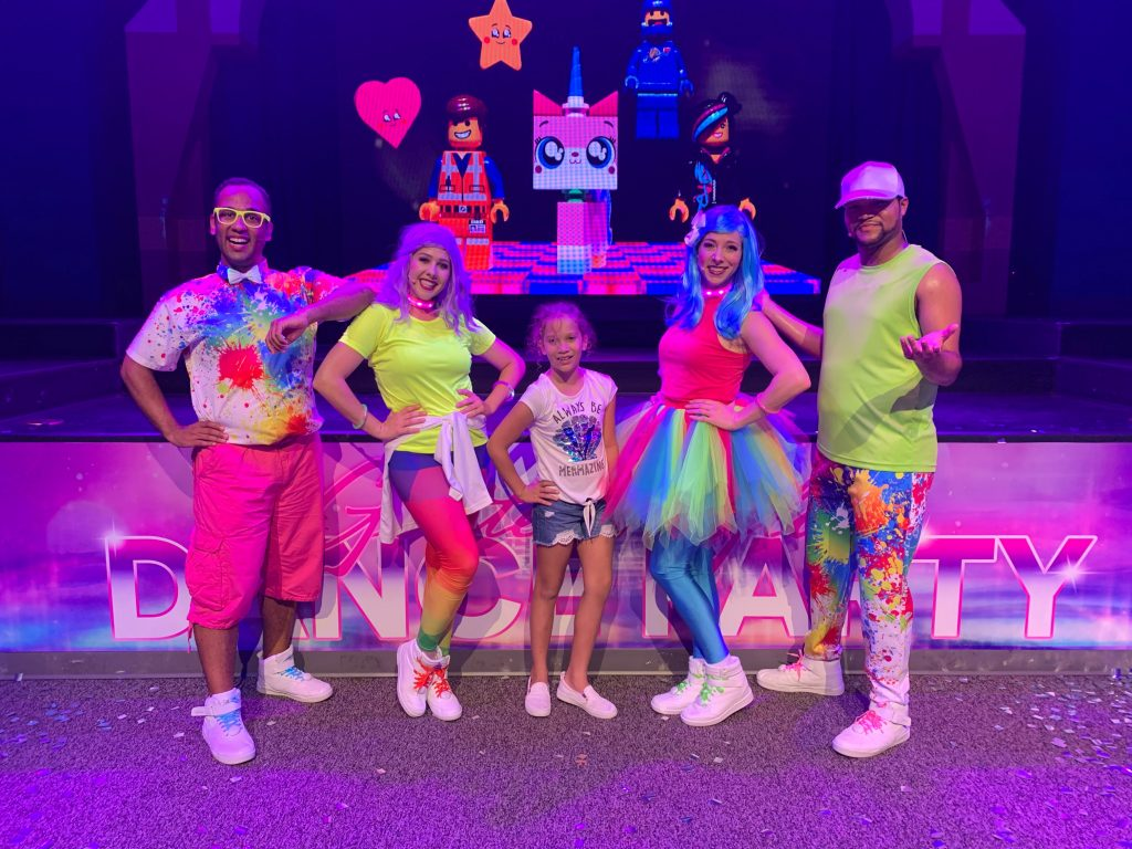 LEGOLAND Glow Dance Party Crew