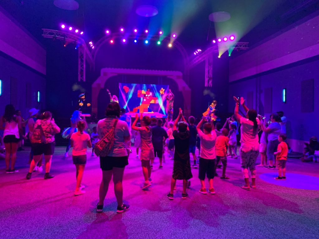 LEGOLAND Glow Dance Party