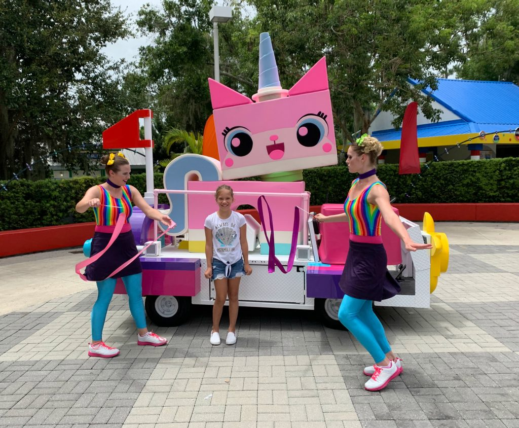 UniKitty at LEGOLAND