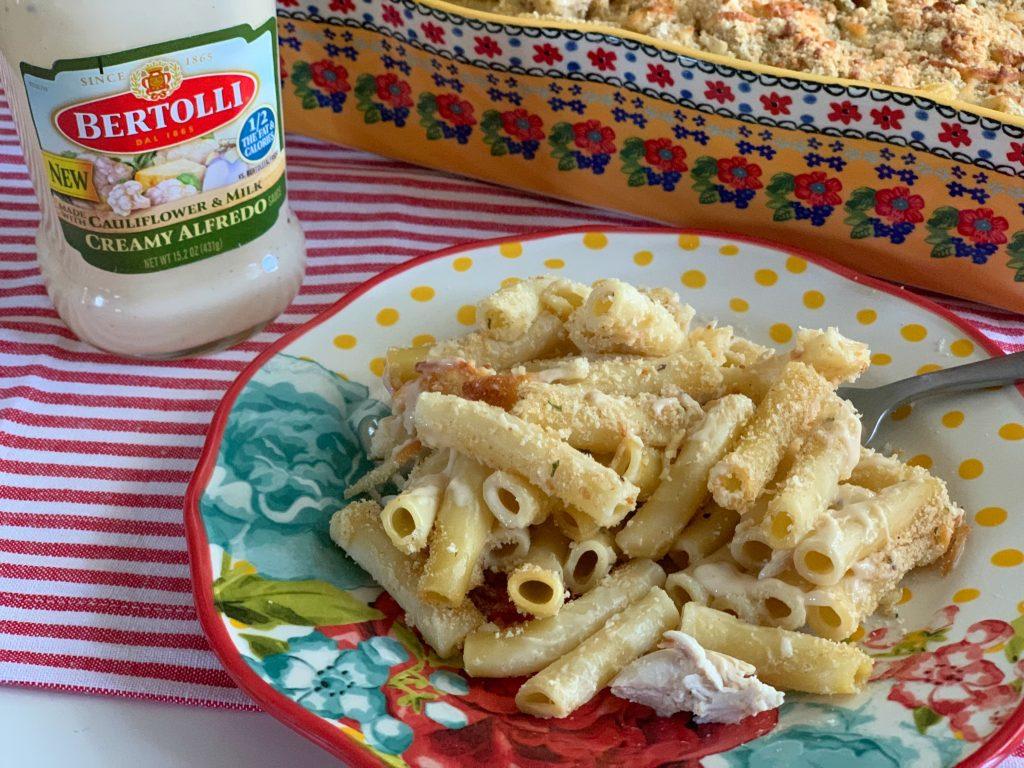 Chicken Ziti Alfredo Recipe