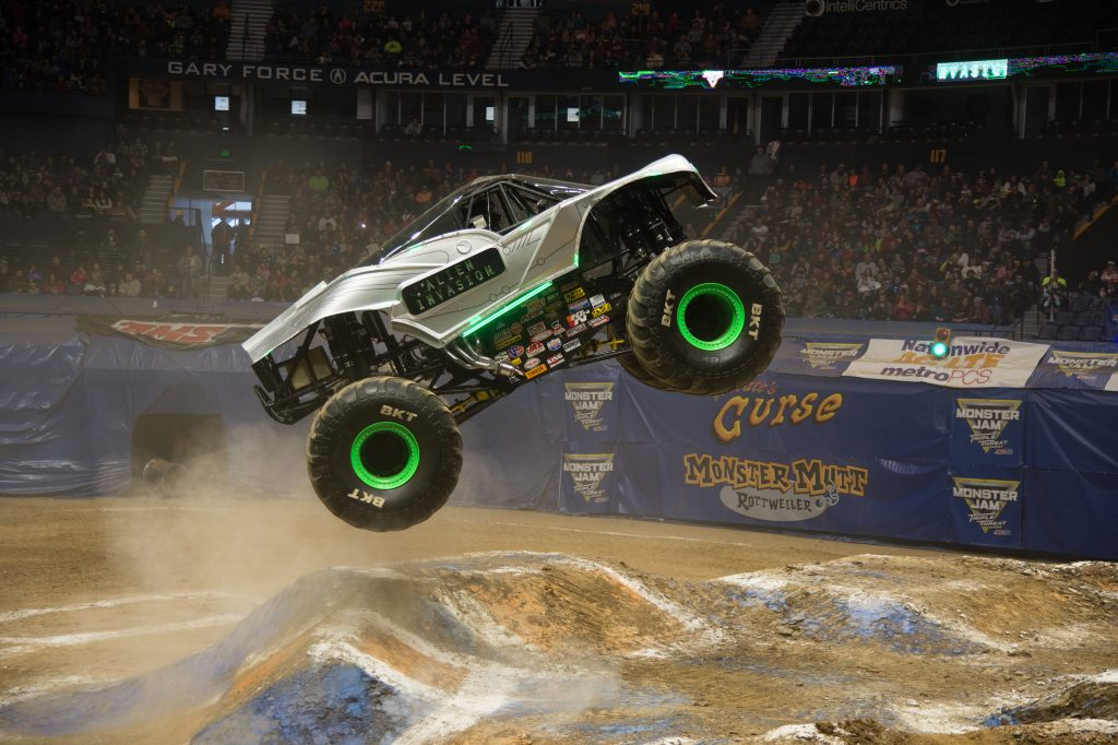 Monster Jam Triple Threat In Tampa