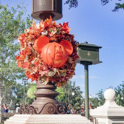 Disney Fall Decorations