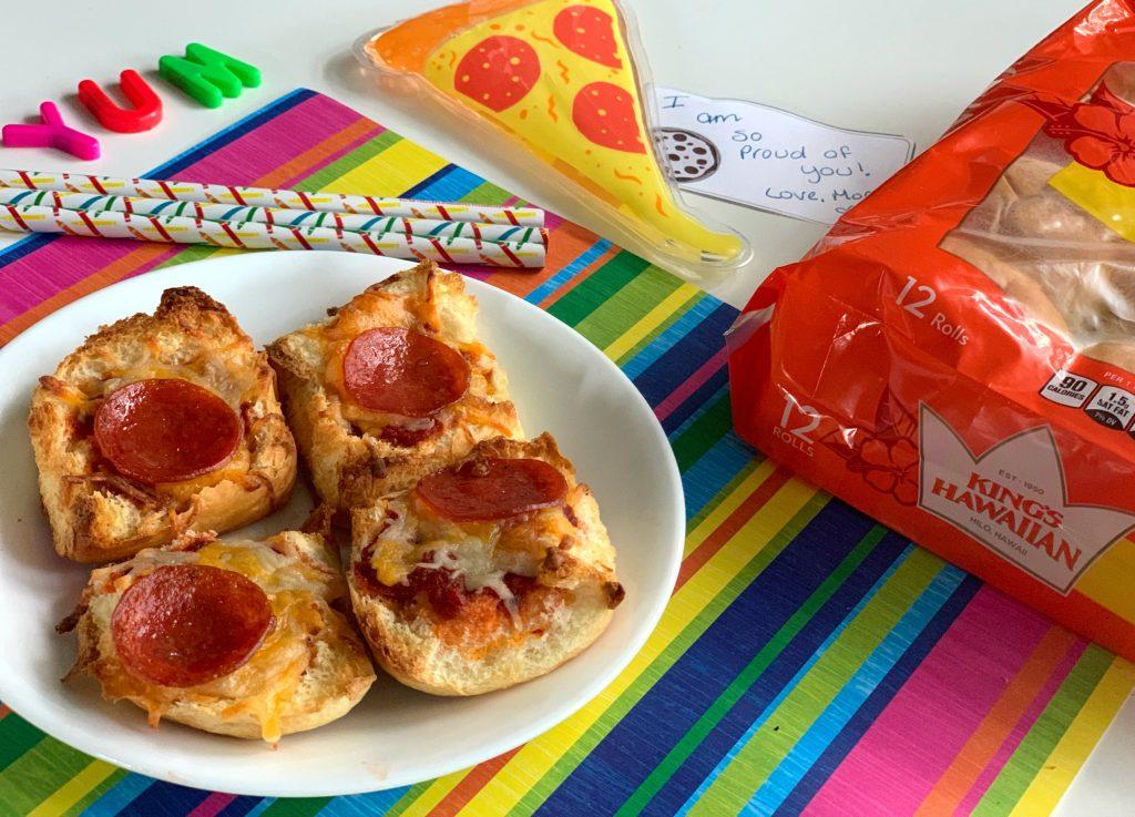 Mini Pizza Lunch Recipe