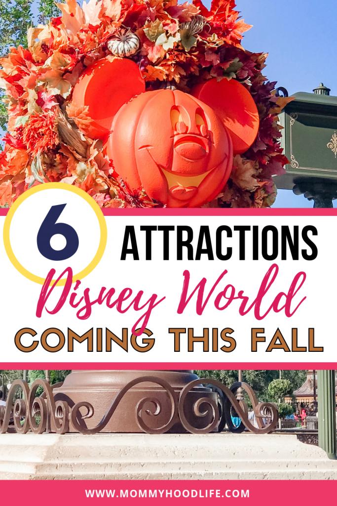 New Disney World Attractions