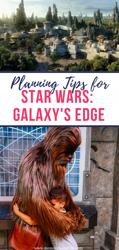 Star Wars Galaxy's Edge Planning Tips