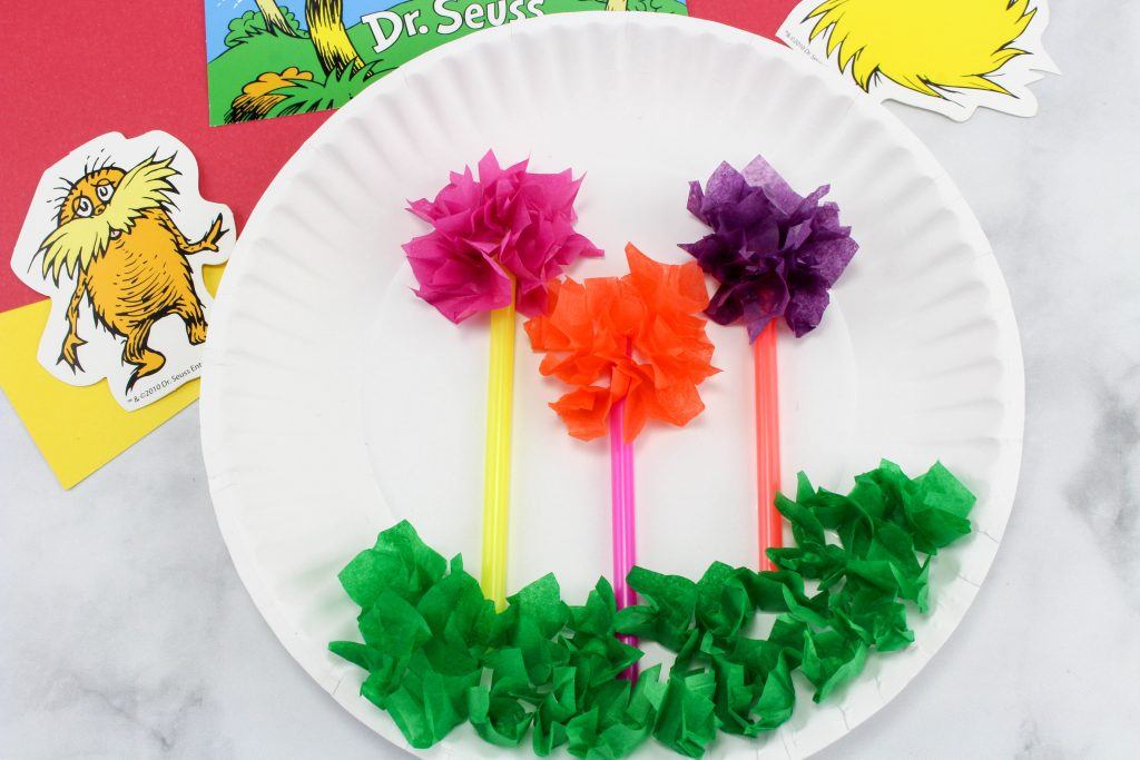 The Lorax Truffle Trees Craft