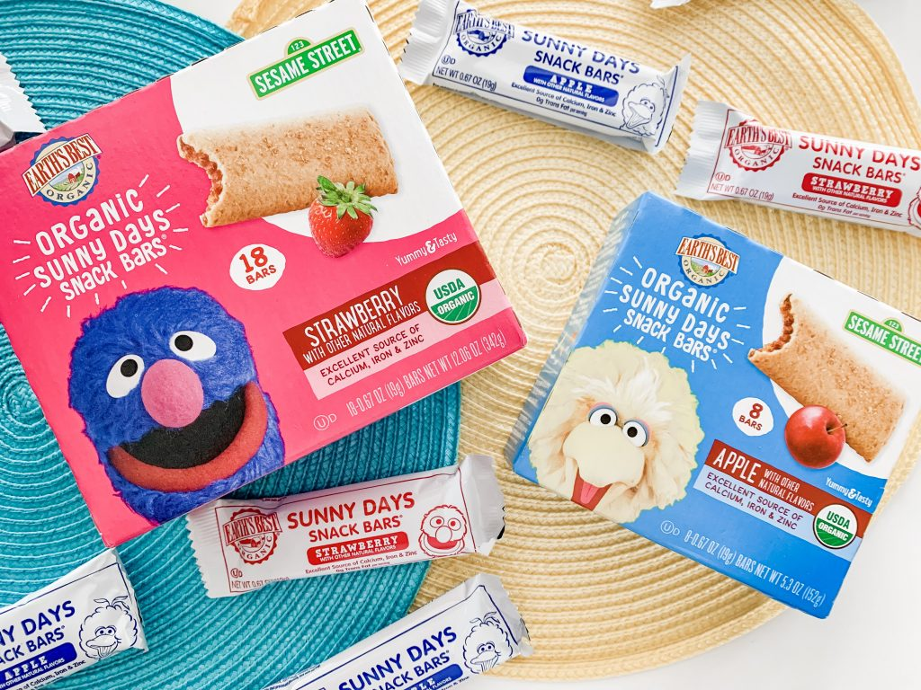 On the Go Snack Bars for School