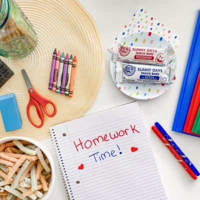 How to Create a Homework Station