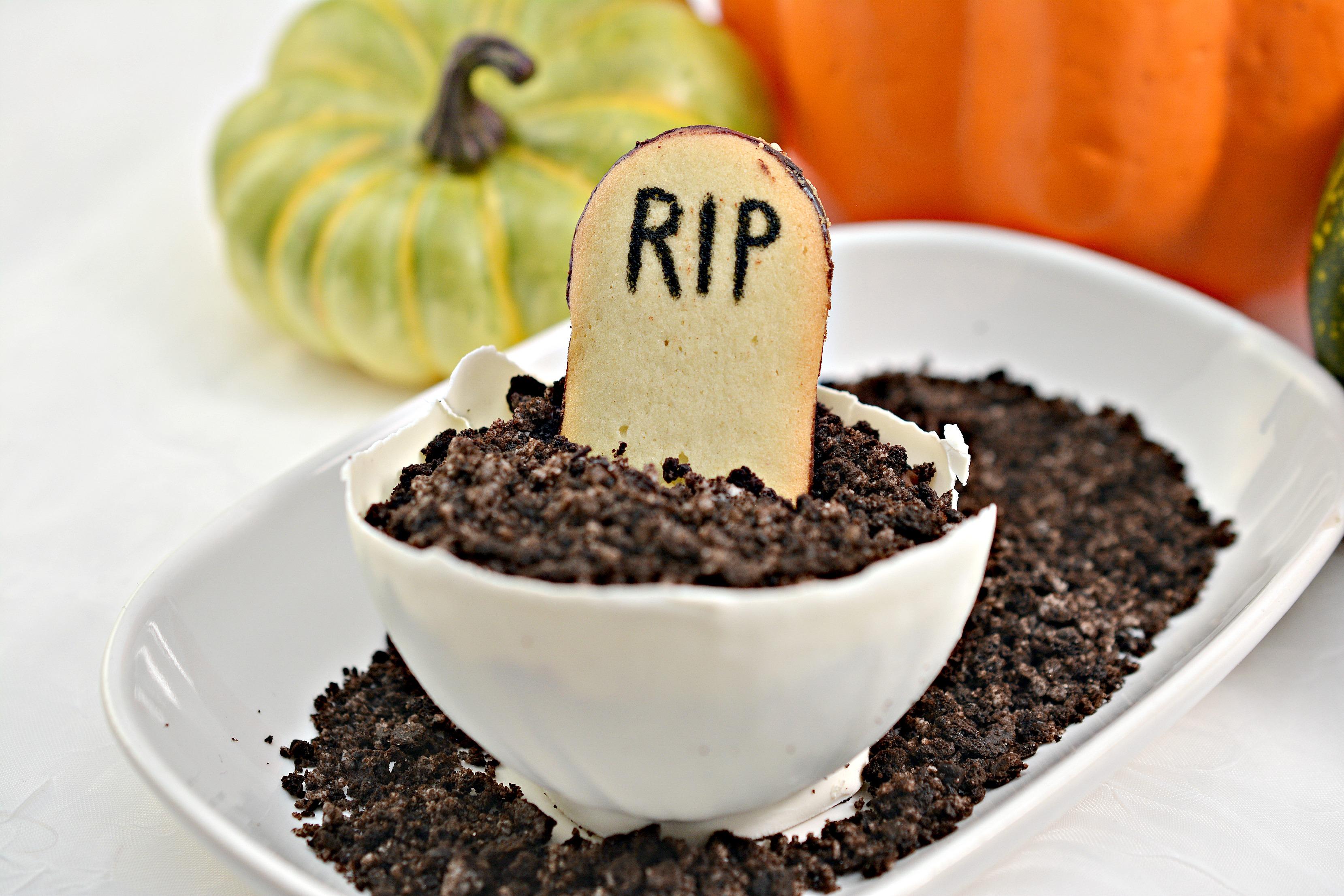 Halloween Pudding Dessert