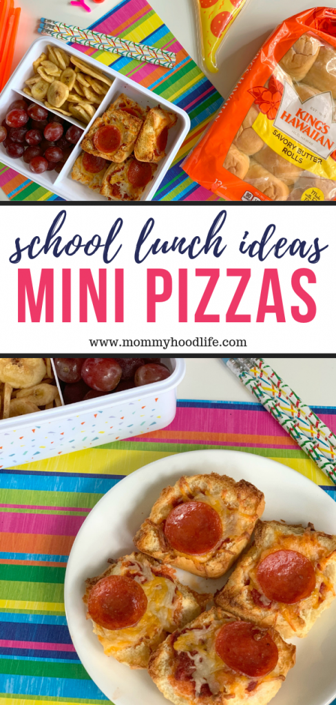 School Lunch Ideas Mini Pizzas Recipe