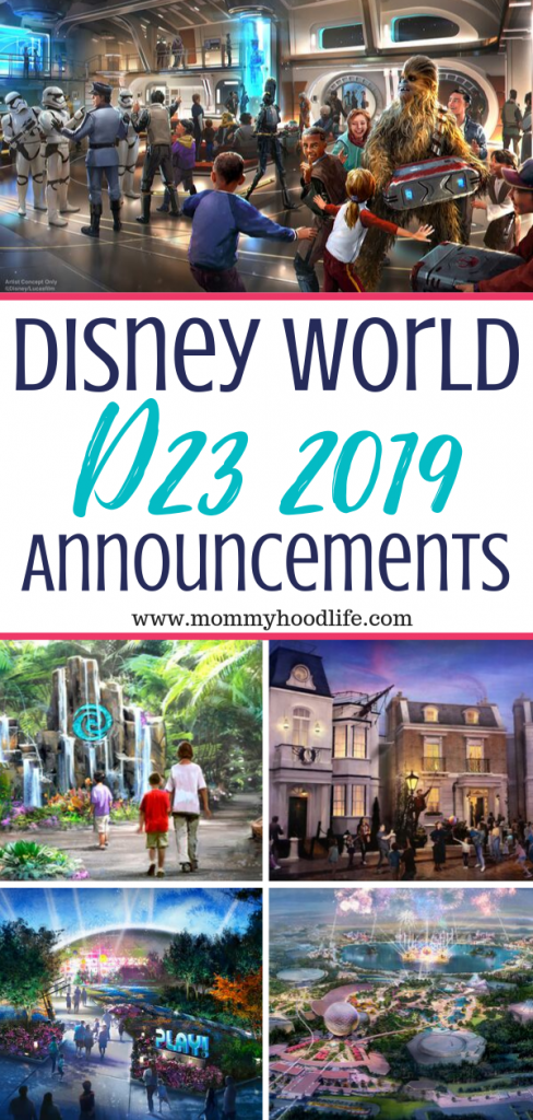 Disney world d23 announcements 2019