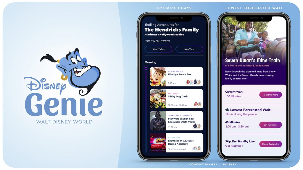 Disney New Planning App Genie