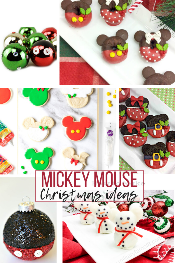 Mickey Mouse Christmas Crafts and Recipes