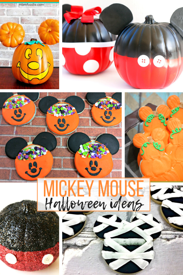 Mickey Mouse Halloween Crafts and recipes