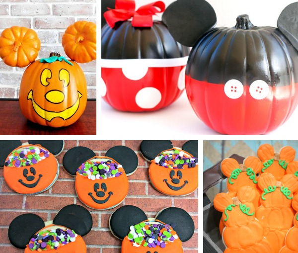 Mickey Mouse Halloween Crafts and Recipes ideas