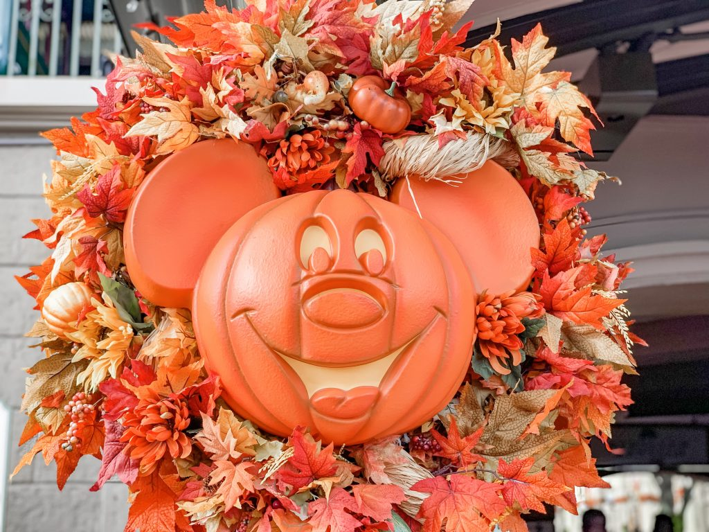 Mickey's Fall Decorations Halloween Party